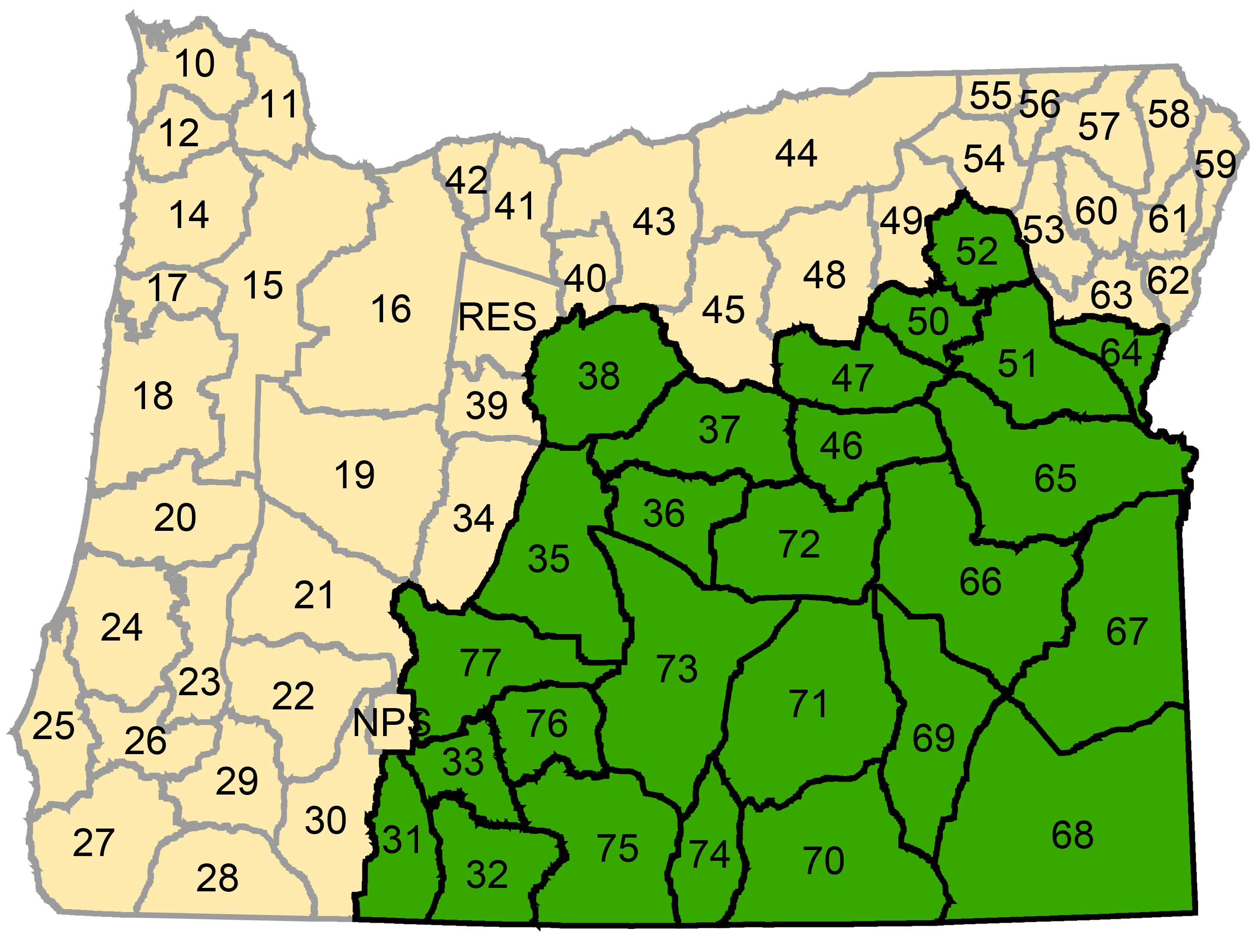 Oregon Hunt Maps